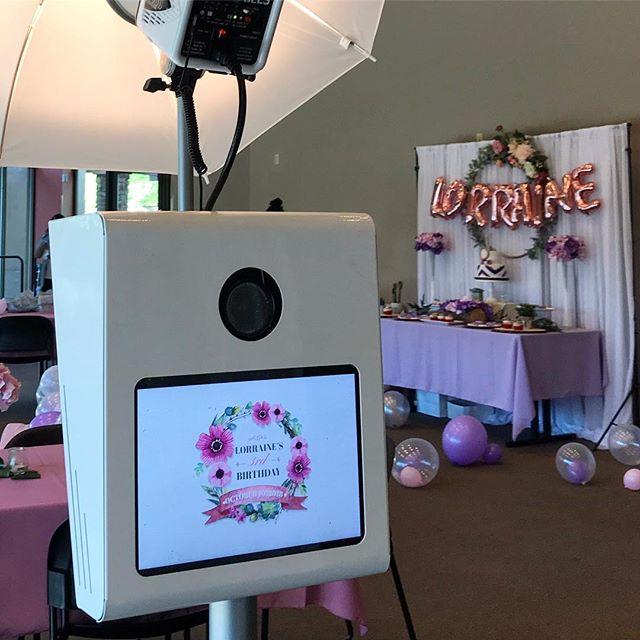 Lorraine's Custom Photo Booth Screen. 💕📸🌵#ekadaphotobooth #customphotobooth