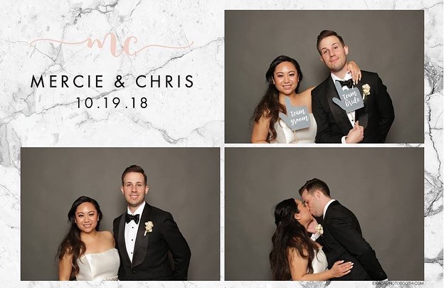 Mercie & Chris.💍All event photos are available on my Facebook page for saving & sharing. #HappilyEverPlasterer #ekadaphotobooth