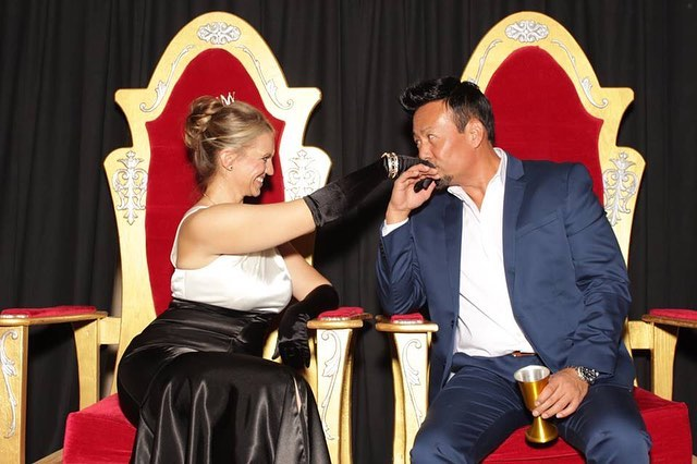 Steinberg Diagnostic Medical Imaging Company Holiday Party 2018. ❤️👑 Such a awesome custom backdrop this year. All event photos are now available for download on my Facebook page. Happy Holidays! #ekadaphotobooth