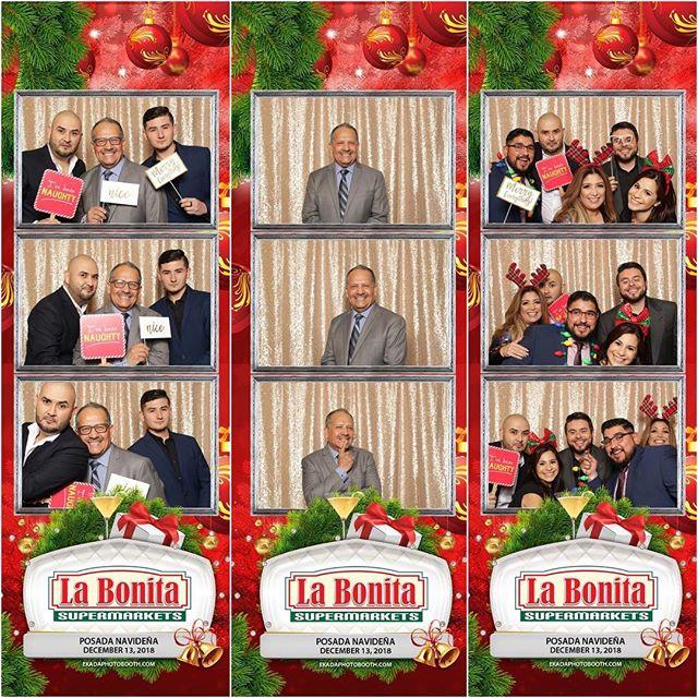 @labonitamarkets Posada Navideña.🎄All event photos 📸 are available on my Facebook page for saving & sharing. Happy Holidays! ❤️-Ekada Photobooth