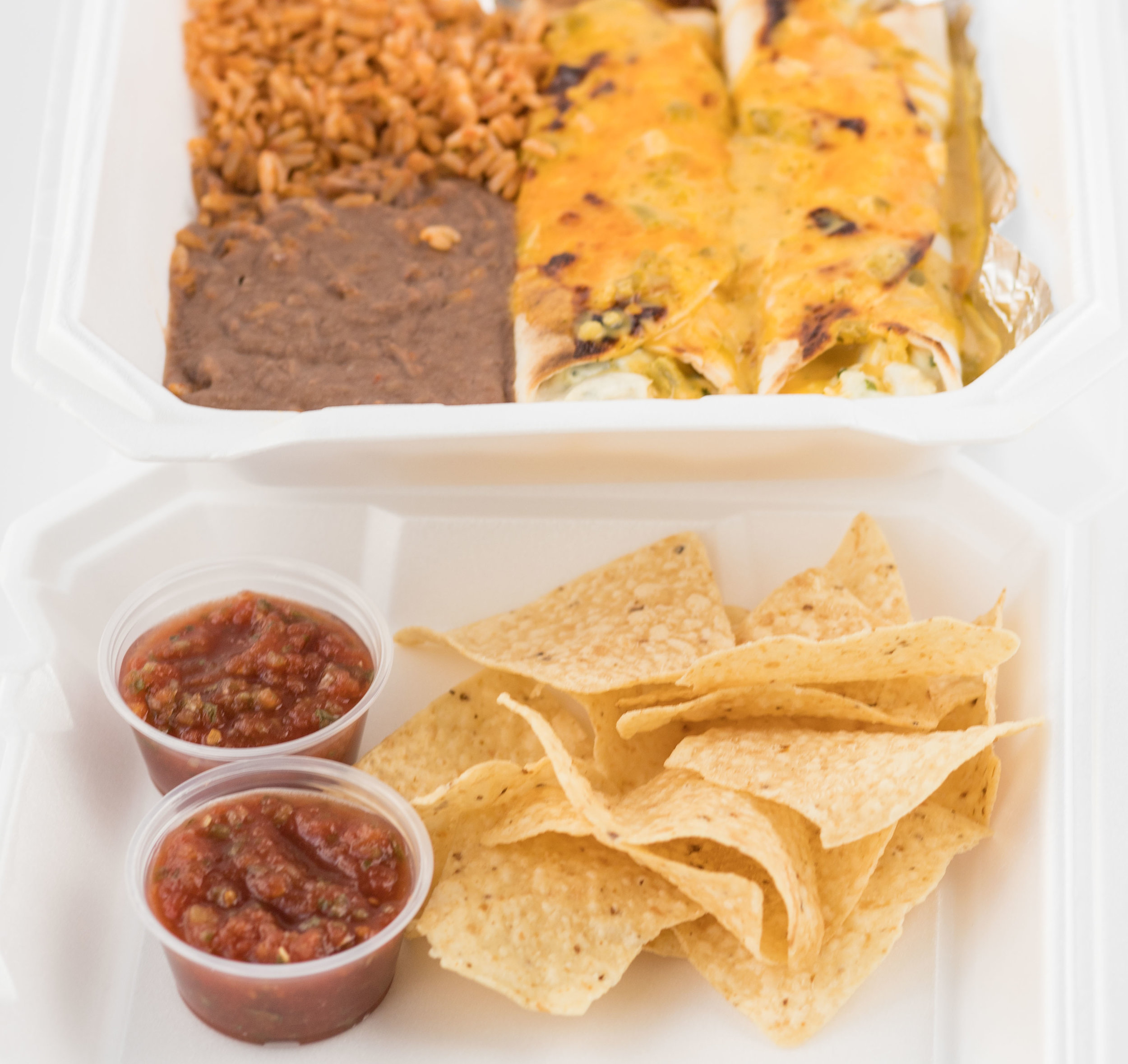 Chicken Enchilada Fundraiser Plate