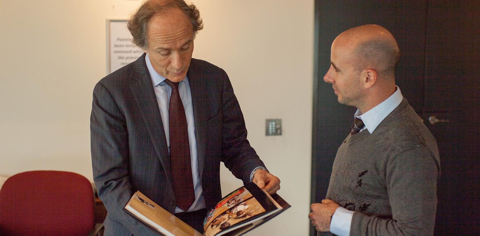 With Australia's Chief Scientist Alan Finkel AO FAA FTSE