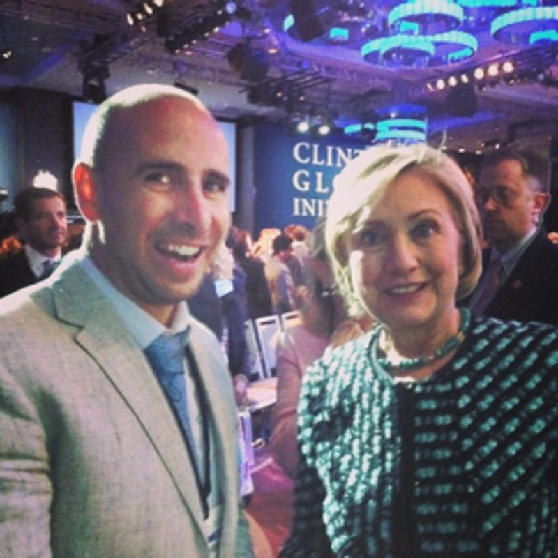 Ducere Foundation and the Clinton Global Initiative