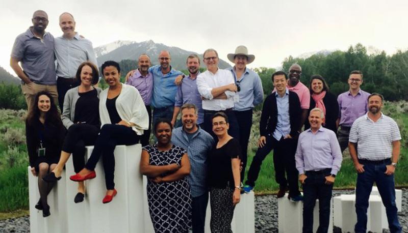 Attending Aspen Institute Leadership Seminar