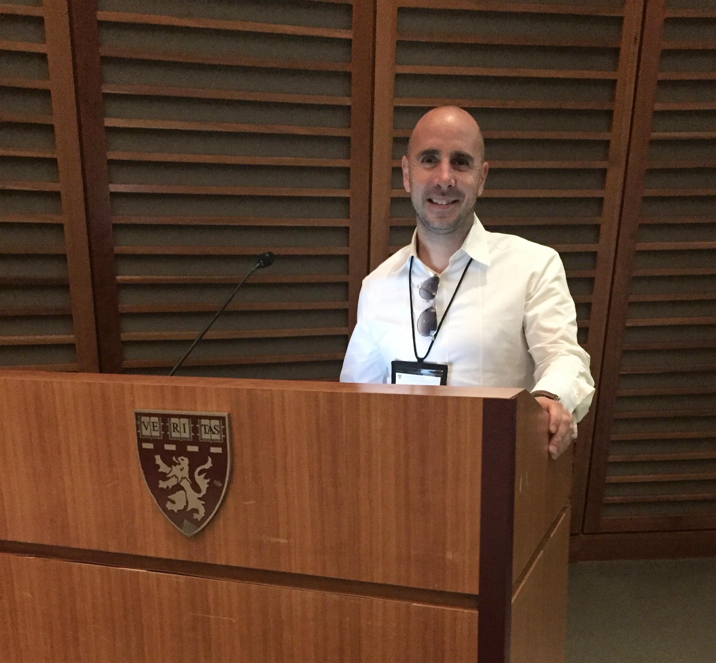 Speaking at Harvard Business School