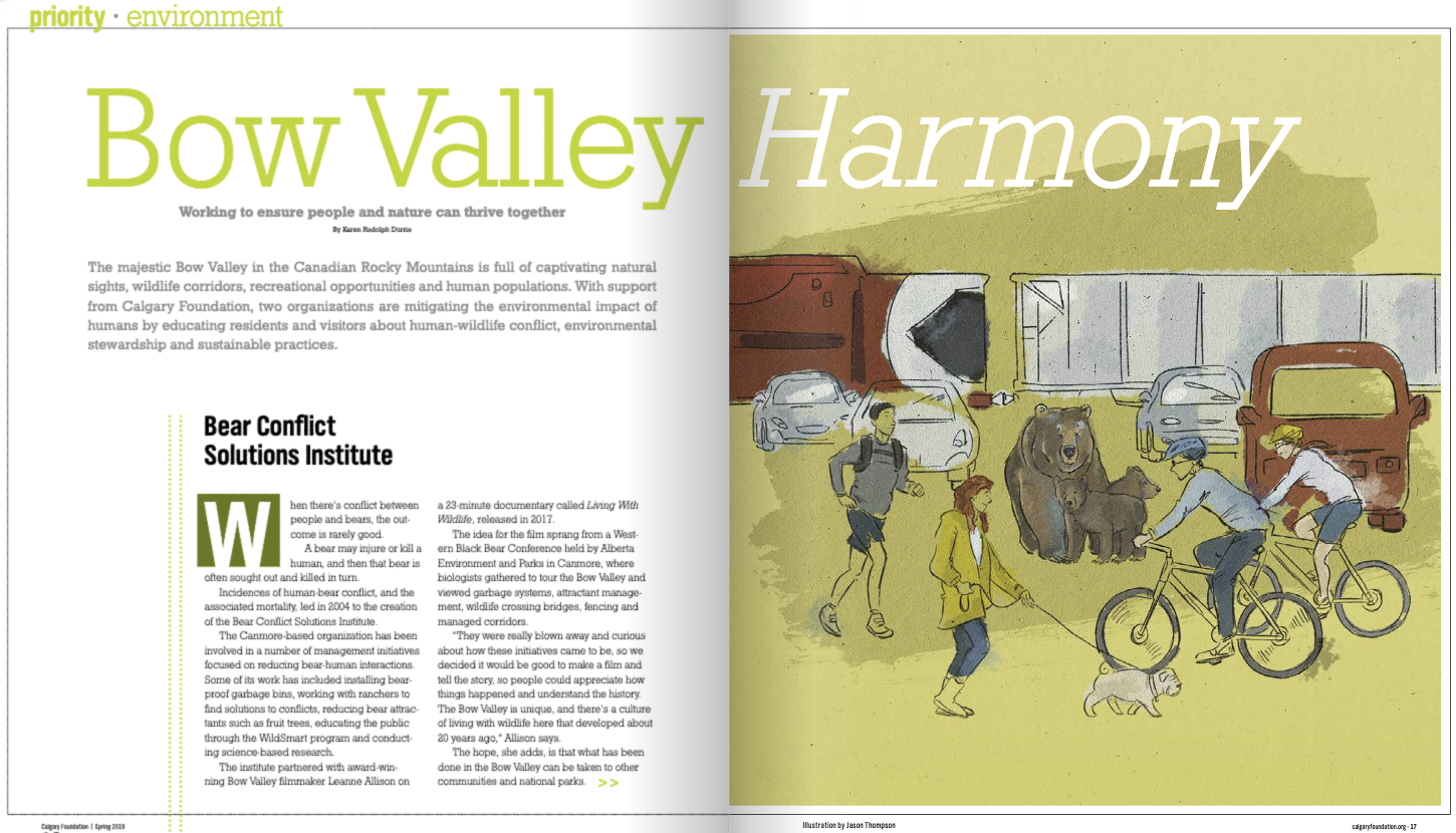 Read about the story behind this new interactive animation in the Calgary Foundation's  Spur Magazine .