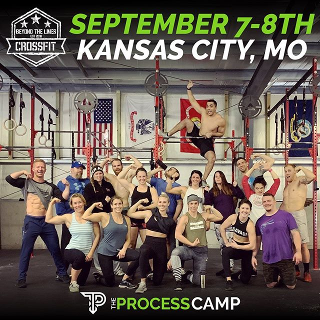🥁DRUMROLL PLEASE... We are coming back to @beyondthelinescrossfit again for the next @theprocess.fit camp which was sold out last year!! . Interested in an all inclusive 1.5 day jam packed camp which is an extension and advancement from last years? Since this camp is about a month out from this next open in October we will be focusing more on aspects you'll see in the open specifically in the RX category. SO, if you are looking to do your best and get the most out of this year's open, those to come, and just improve yourself overall as an athlete then this is the camp for you! ——————— More details can be found and you can secure your spot through the 🔗 in our bio! We sold out last year so please don't hesitate to fill 1 of our 20 limited spots. Current members get a discount, DM us. . #theprocesscamp #education #training #trusttheprocess #beyondthelinescrossfit