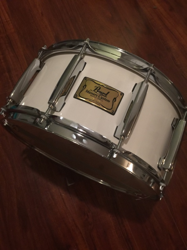 The Drummer's Closet raffled off a Pearl Master Custom Snare to a lucky attendee