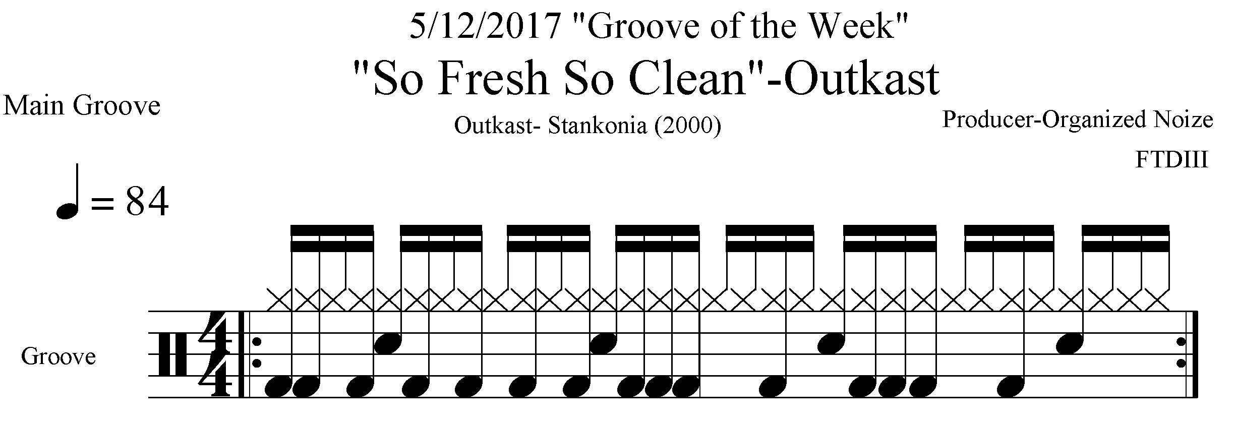 Groove of The Week — Pocket ProTechTours