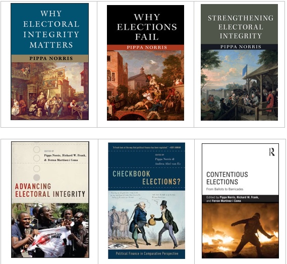 Examples of several EIP books