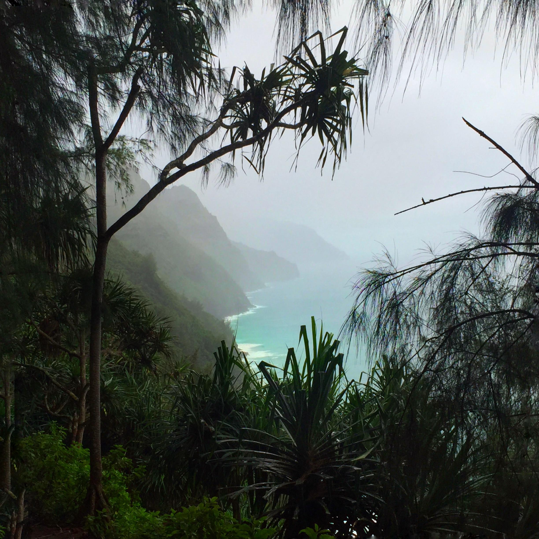 Nā Pali Coast, Kaui, Hawaii