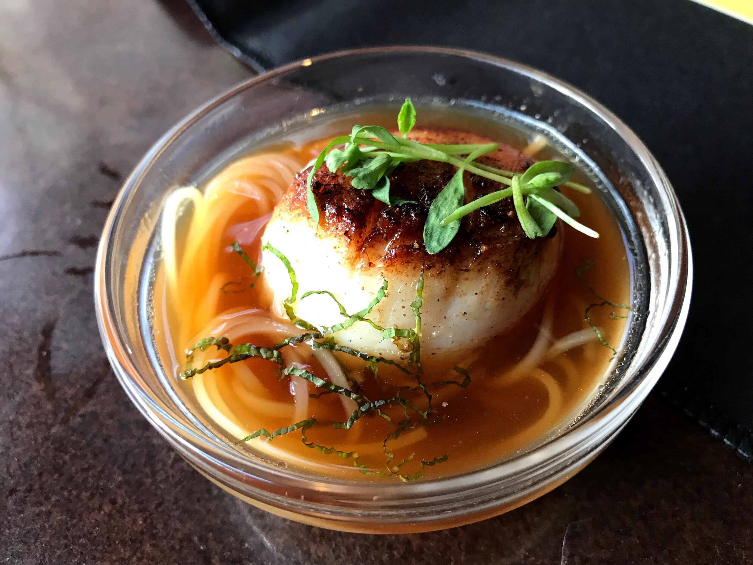 Pho with Scallop