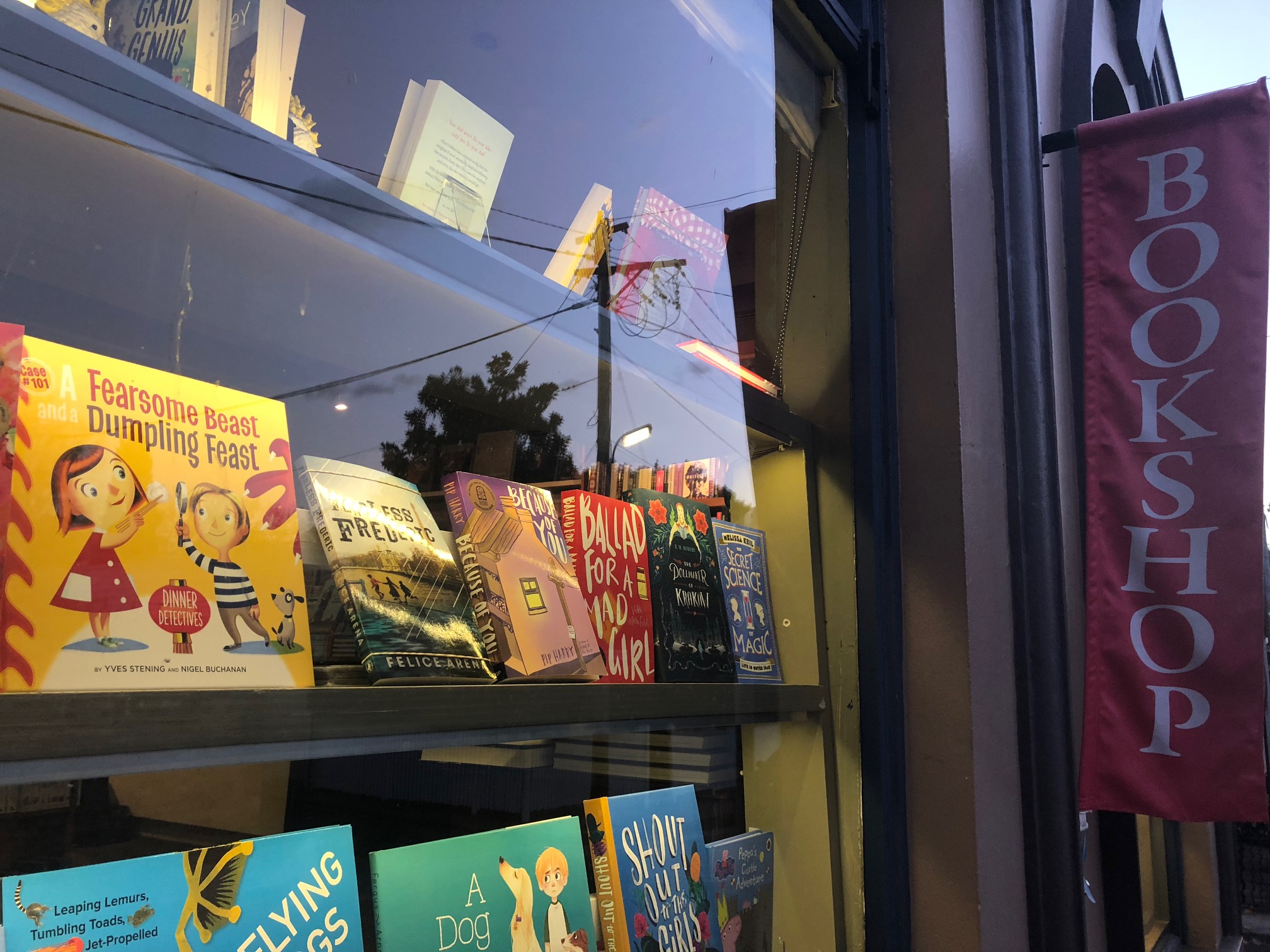 Woollahra Bookshop, formerly Lesley McKay's Bookstore, is one of the best bookstores in Sydney. Very proud to be selected. Here's a big thank you from us.