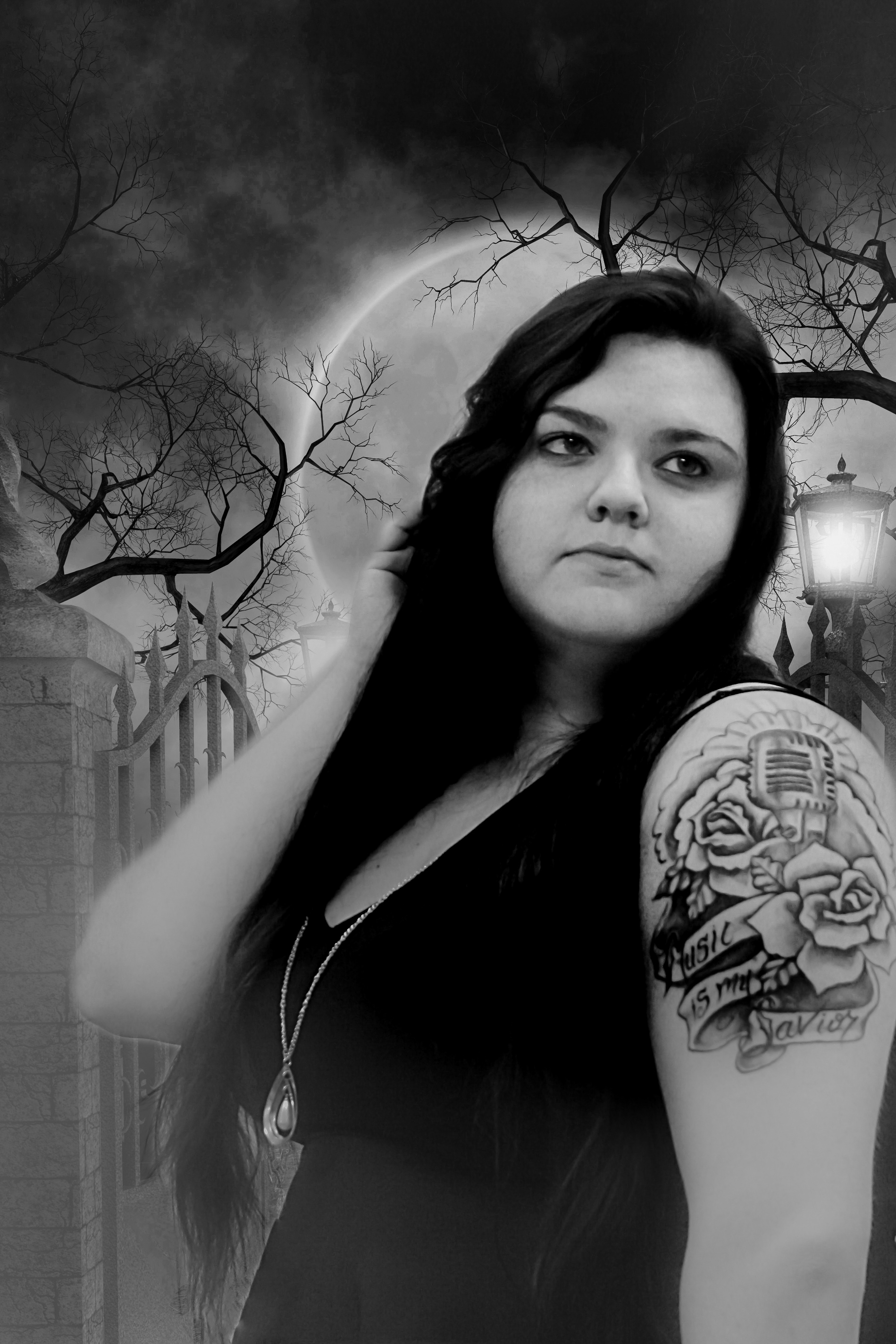"Deana Rose - ""Graveyard Siren, Blood Moon's Risen, Come too close I'll steal your soul.""Genre(s): Rock, RnB, Hip-HopLocation: Ocala, USA"