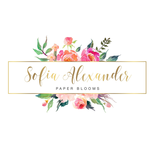 SOFIA ALEXANDER PAPER BLOOMS & EVENTS Event Planner