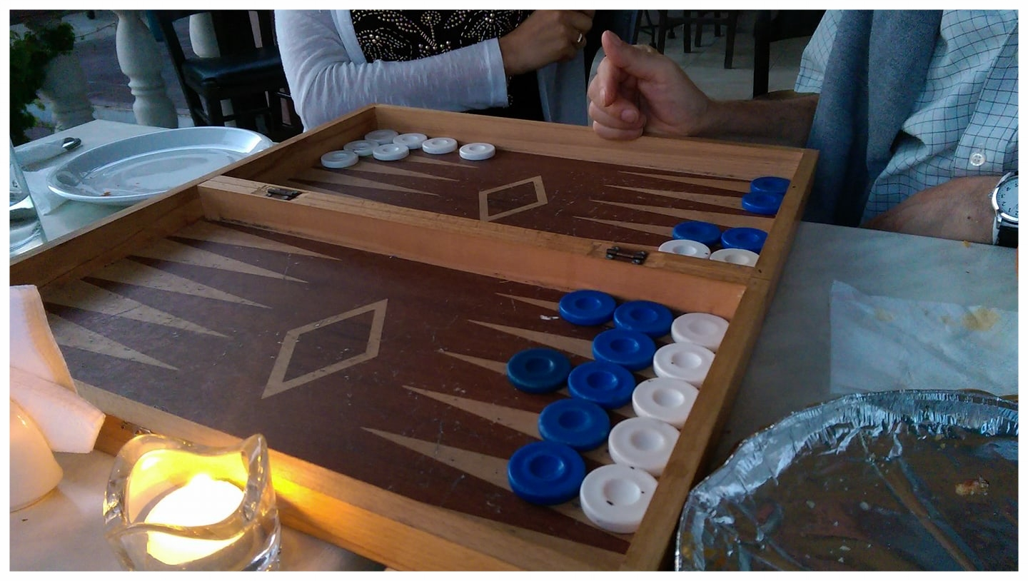 Backgammon battle