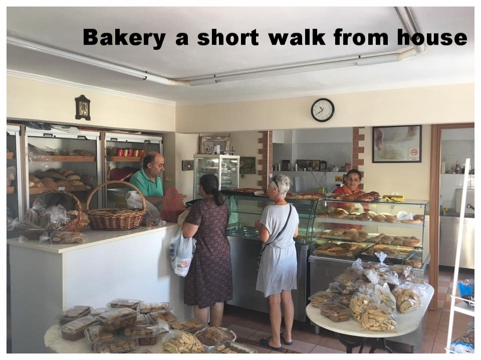 The bakery, reputed to be one of the best in the NE Aegean!