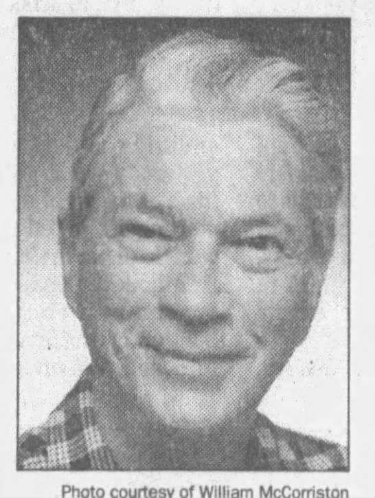 Colin McCorriston, 1915-2001