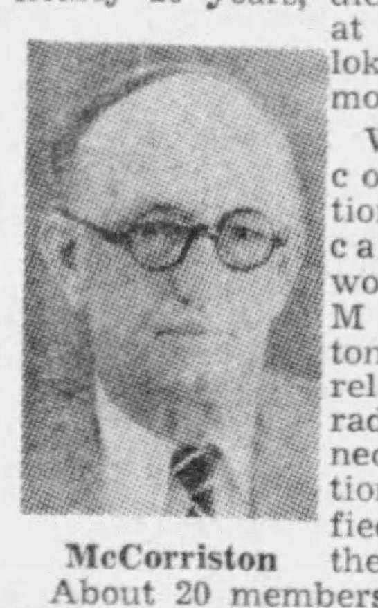 Edward C. McCorriston, date unknown