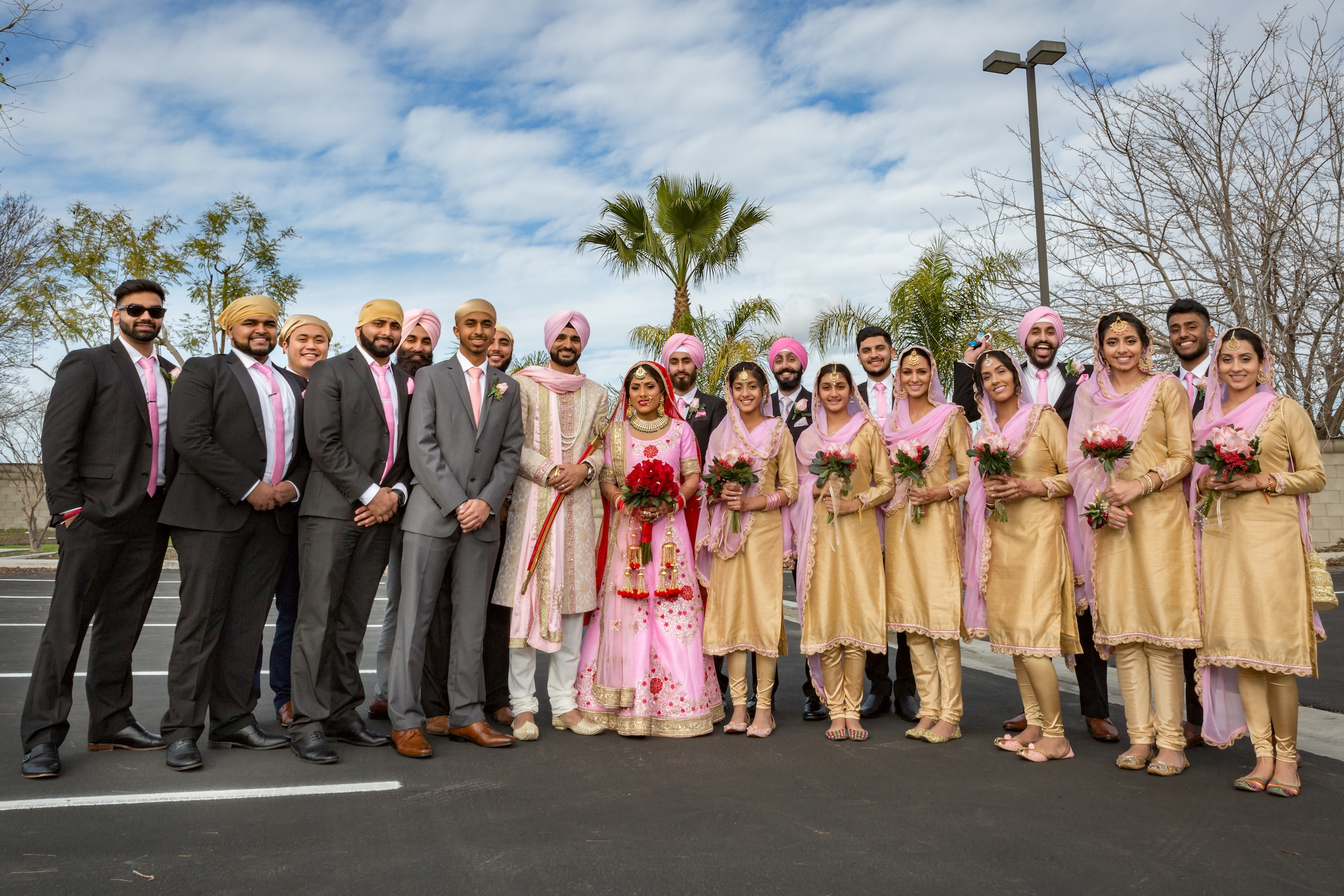 Groomsmen and the Bridesmaids