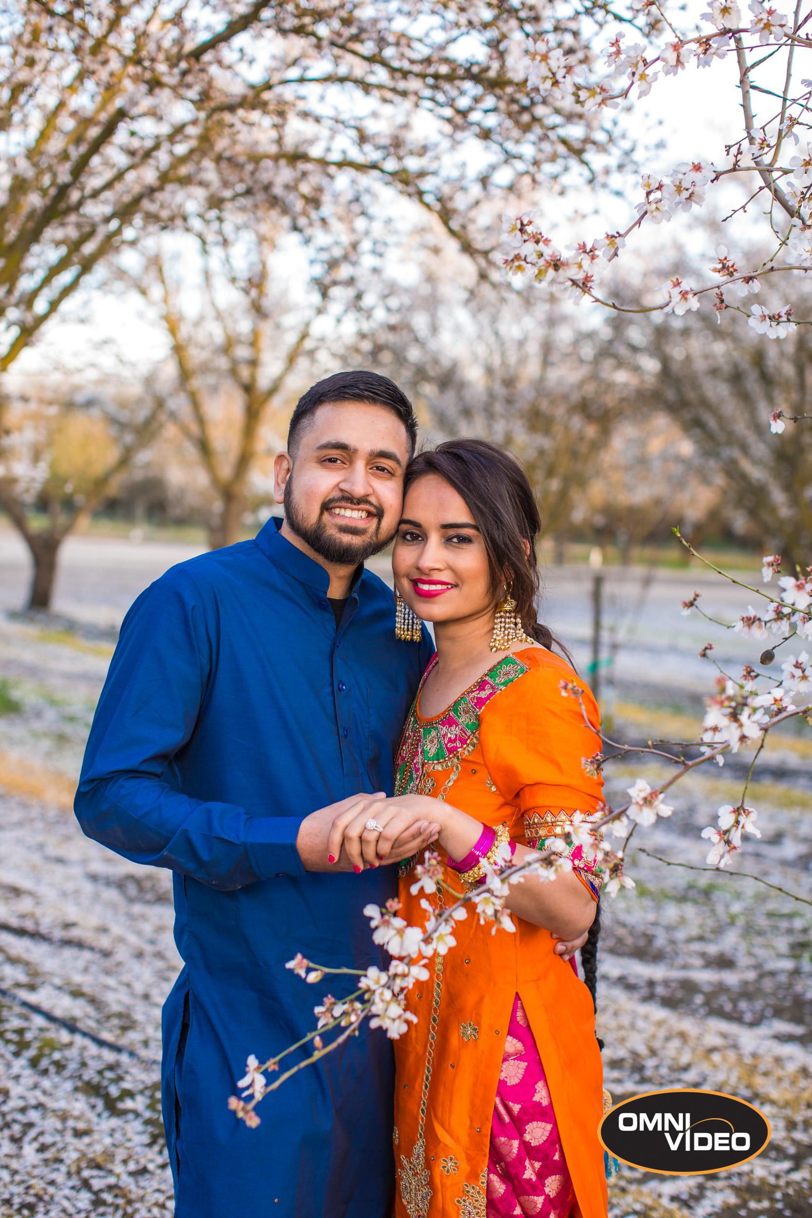 Sachdeep & Rupinder Engagement Photoshoot, Omni Video Blog
