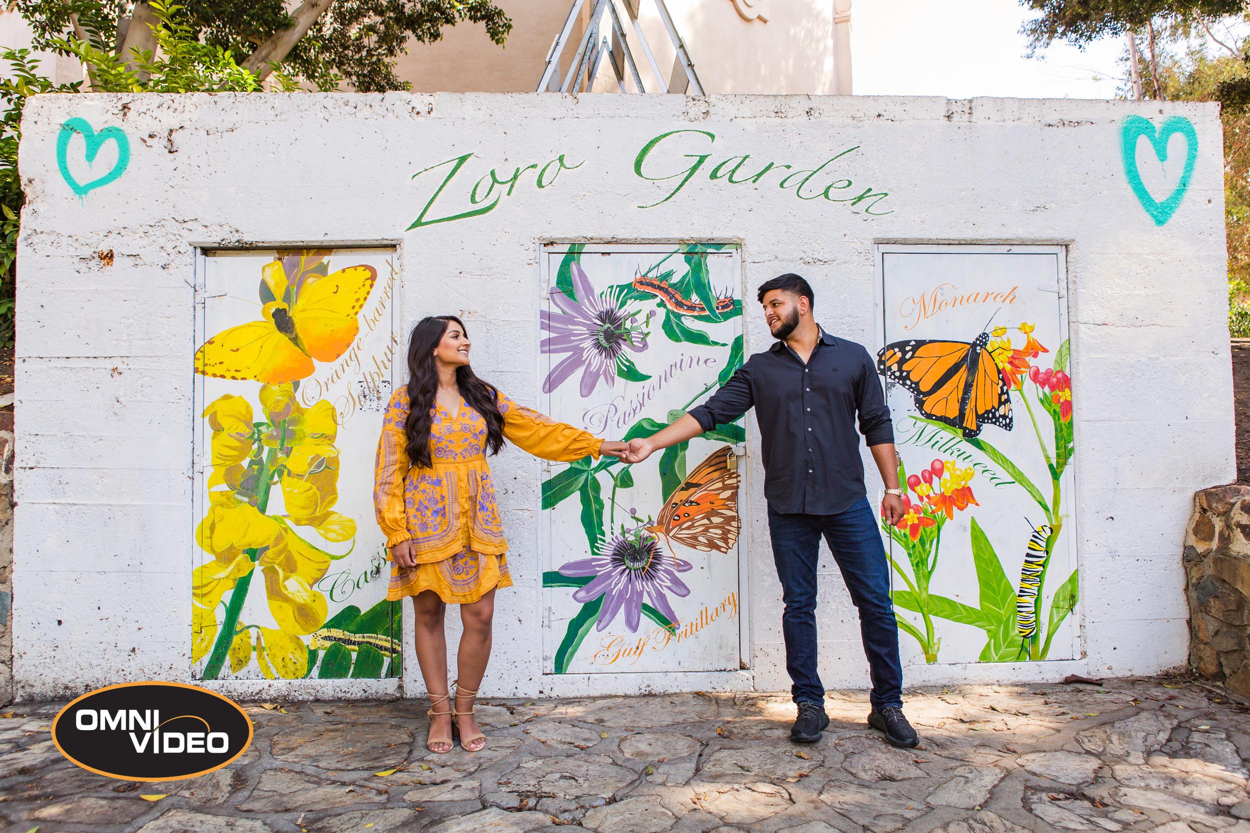 Yad & Raji's Engagement Photoshoot - Omni Video USA