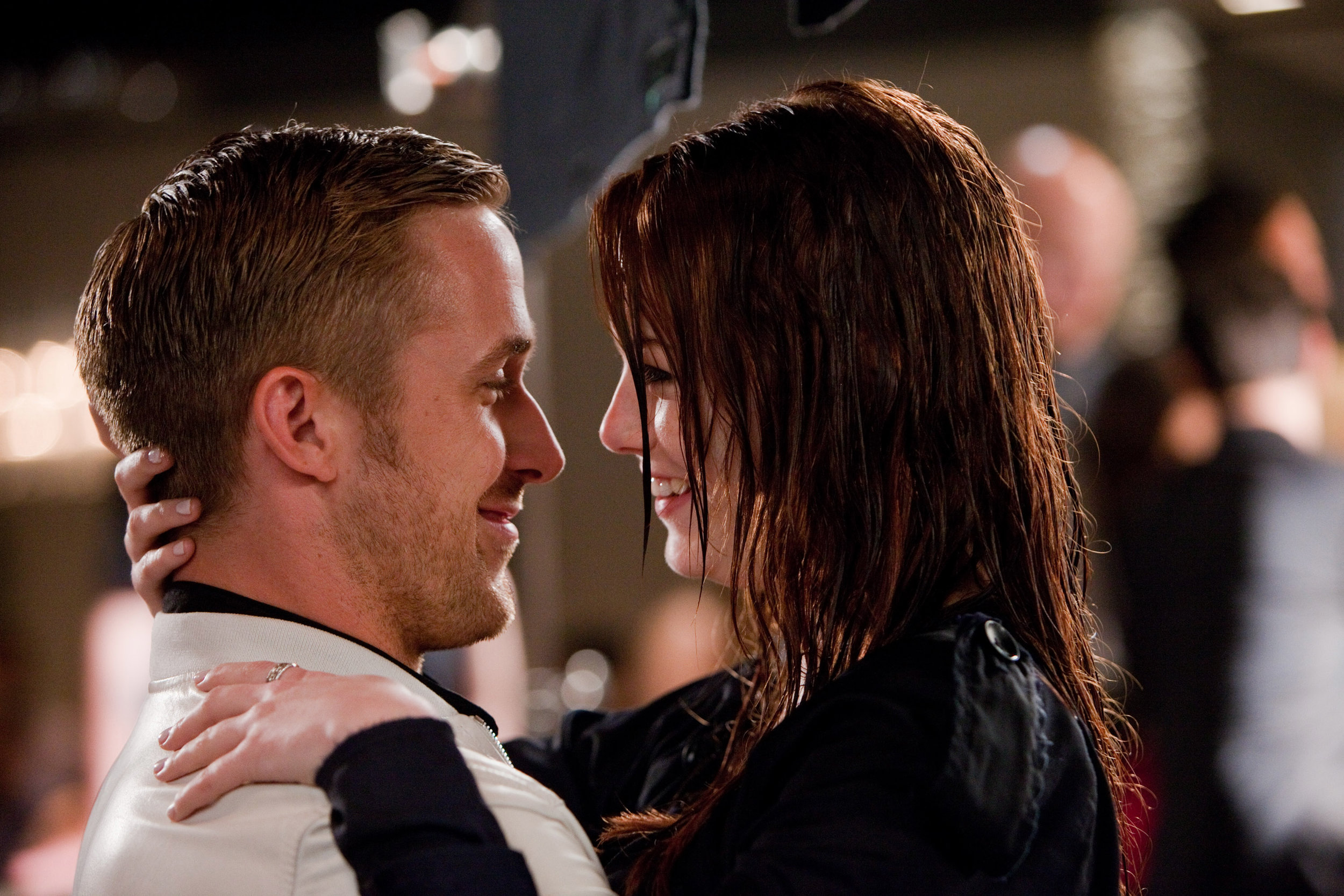 Ryan Gosling and Emma Stone in Crazy, Stupid, Love (2011)