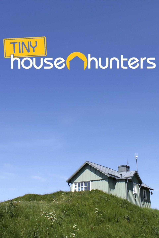 Tiny house isolated on a grassy hill,  Tiny House Hunters