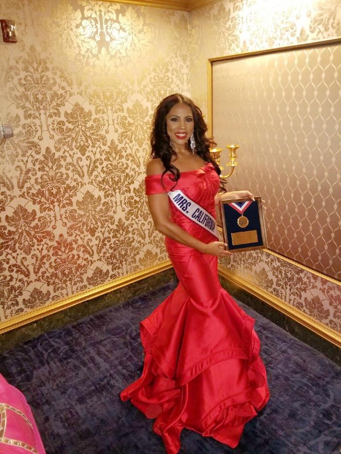Mrs. California selected as a Top 15 Semi-Finalist at Mrs. America 2017