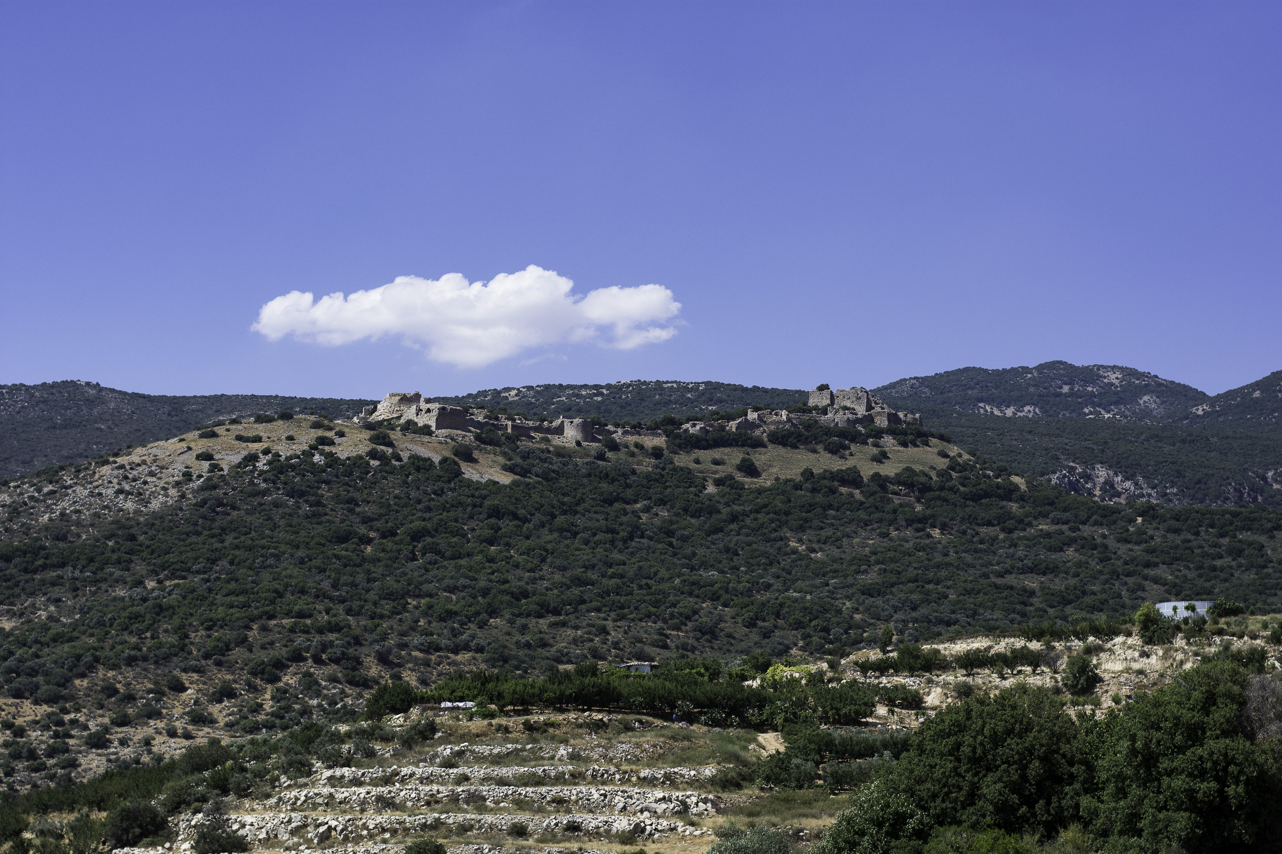 The medieval Nimrod Fortress