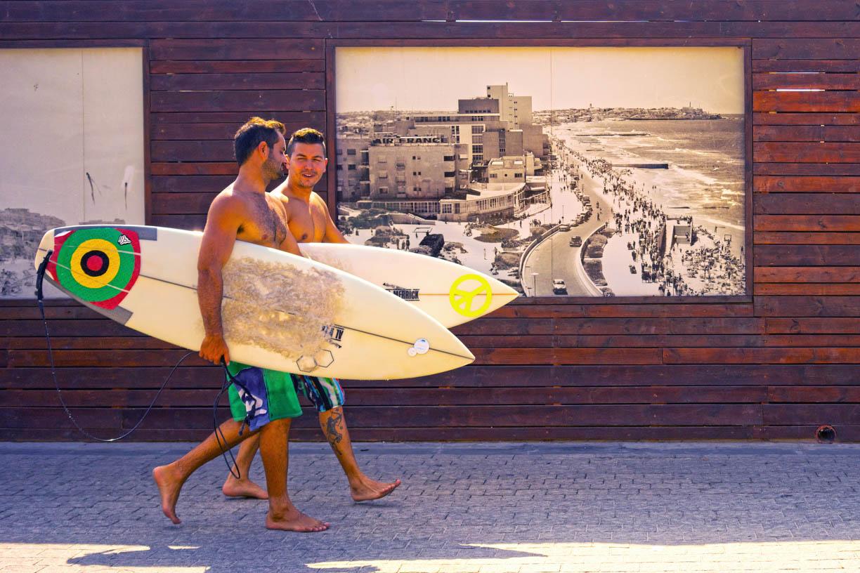Ido Biran, Tel Aviv surfers