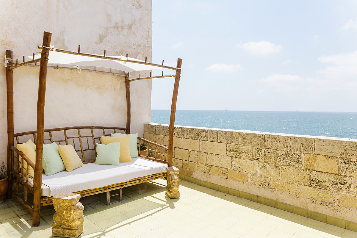 Acre, Akko, Israel, 4 hearts Sea Side Suite, Holiday, Hotels, Travel, Airbnb, Vacation, Slow Travel, Hotelier, Dwell, authentic, home, style