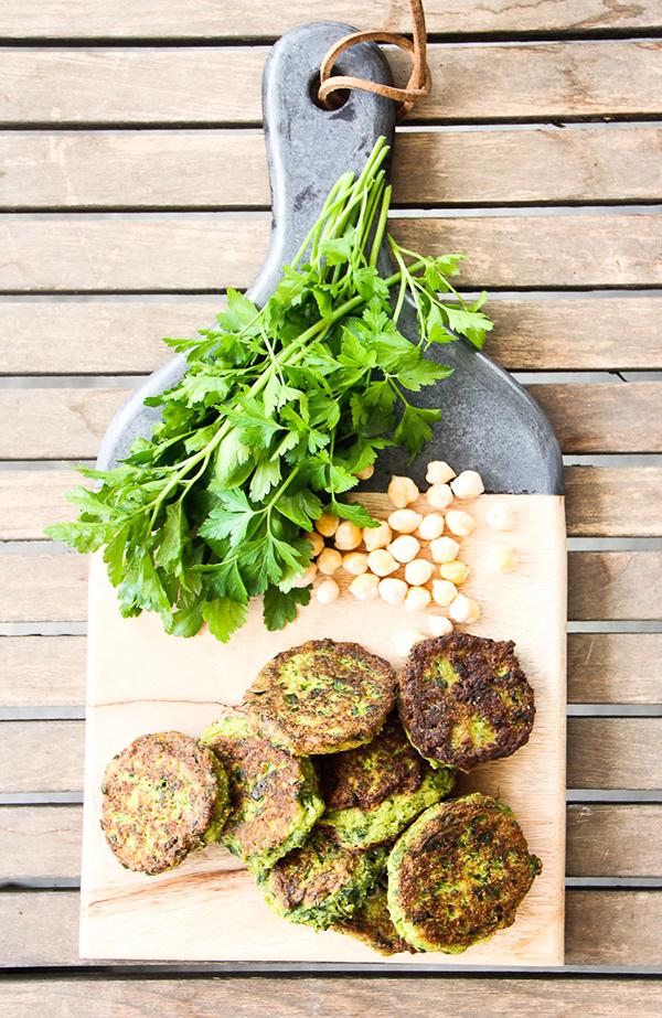 cauliflower green patties vegan burger recipe foodie