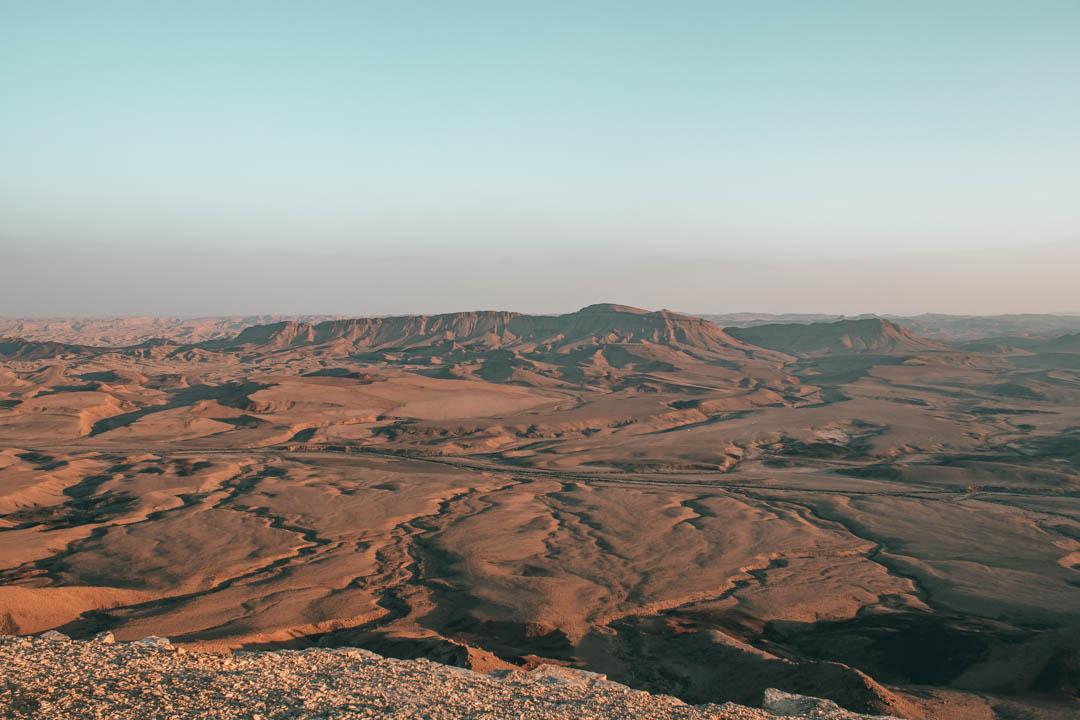 desert, negev, ramon crater, mitzpe ramon, desert landscape, desert view