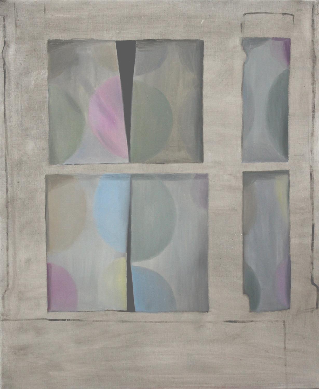 Curtain     2015, oil on canvas, 73 x 60cm