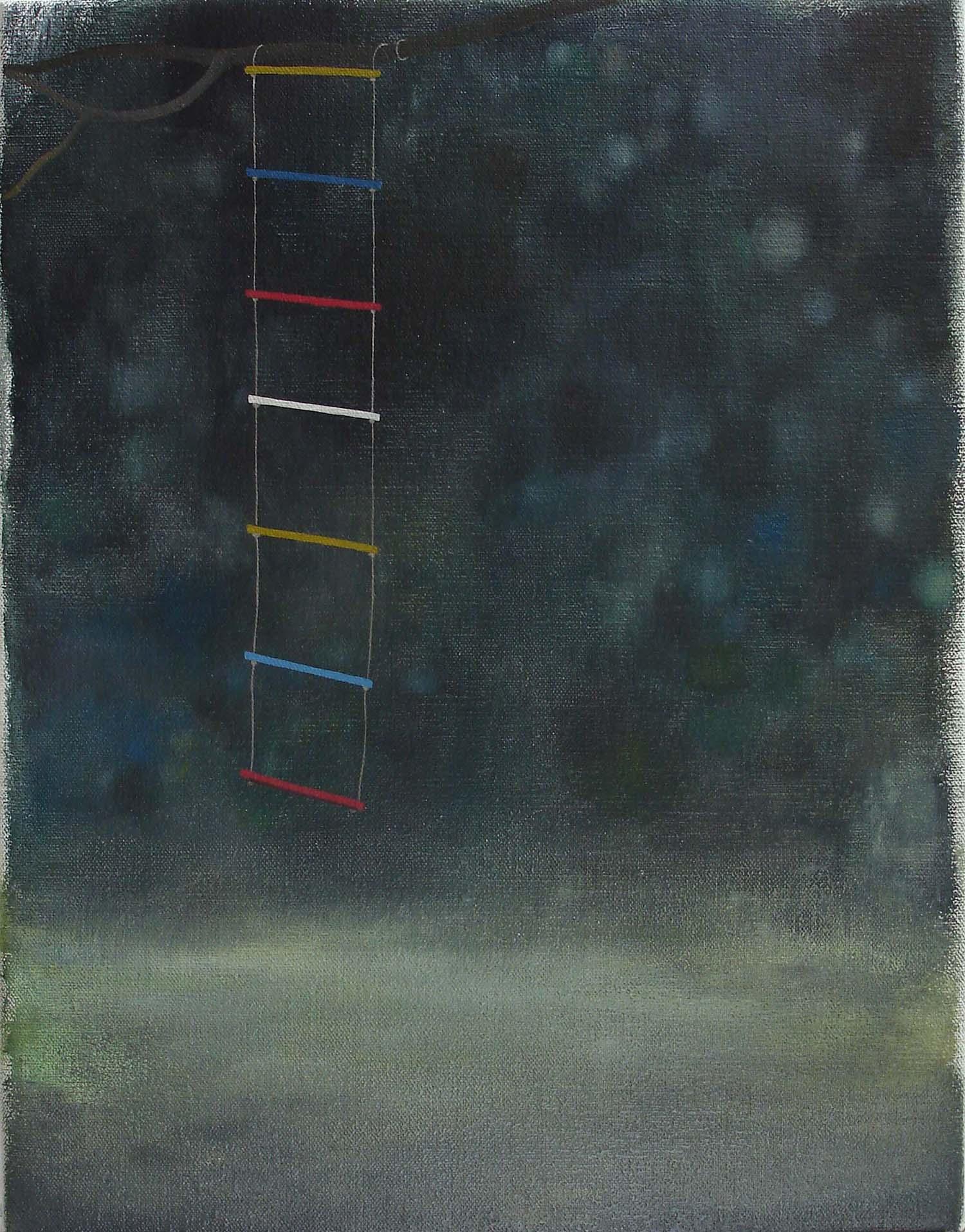 Tree House    2006. oil on canvas, 46 x 36cm