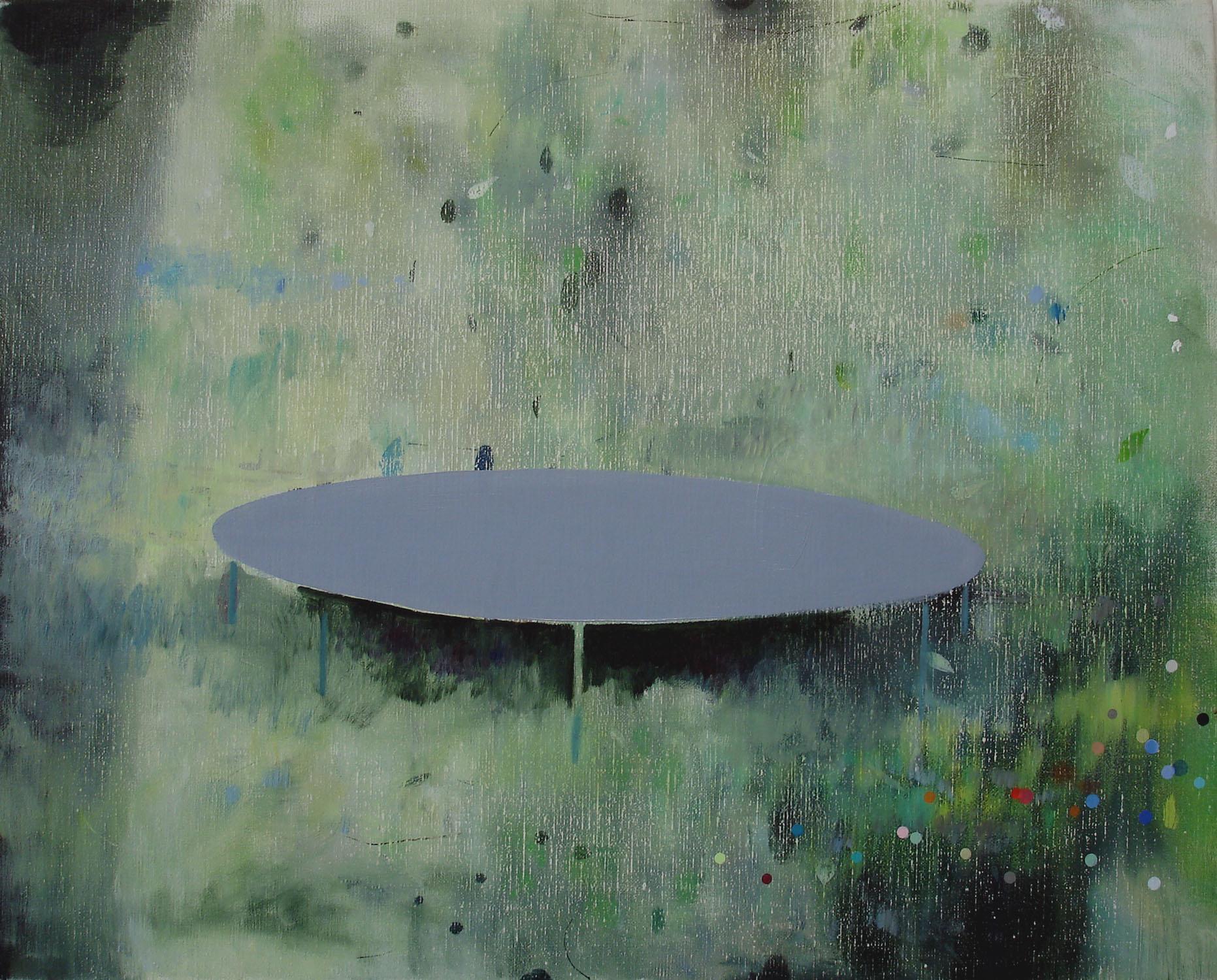 Trampoline    2010, oil on canvas, 40 x 50cm