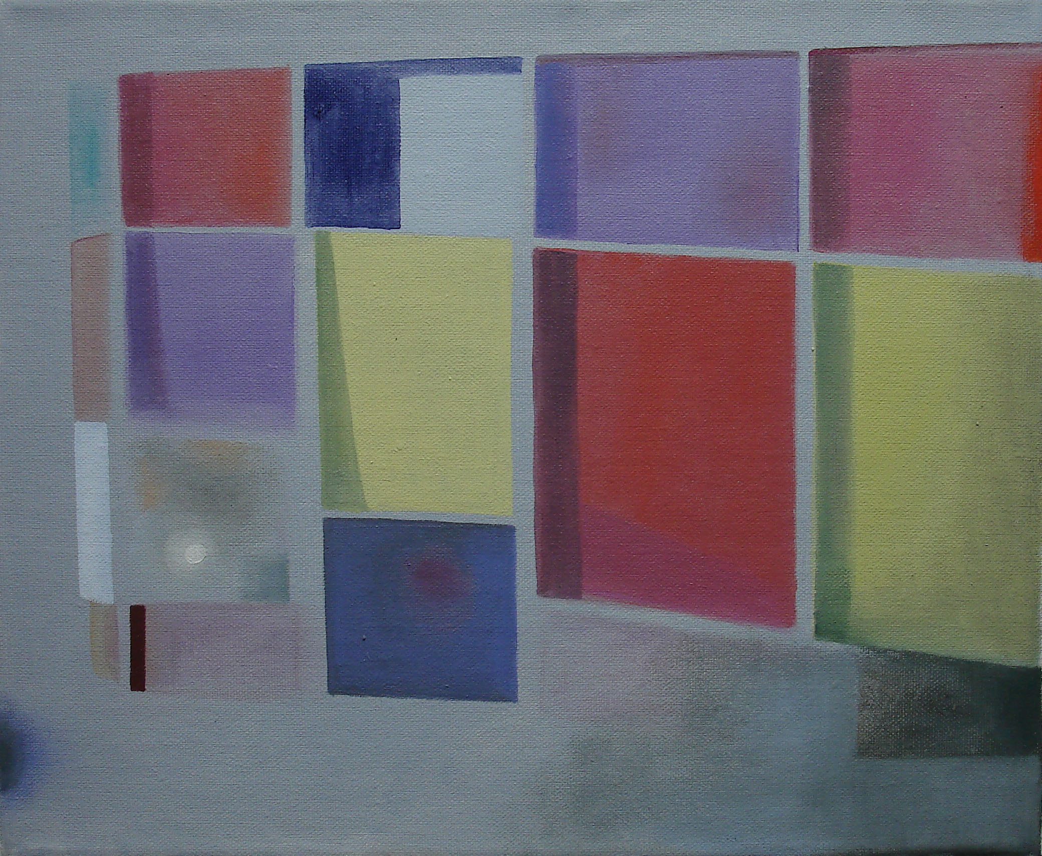 Painted Windows    2011, oil on canvas, 25 x 30cm