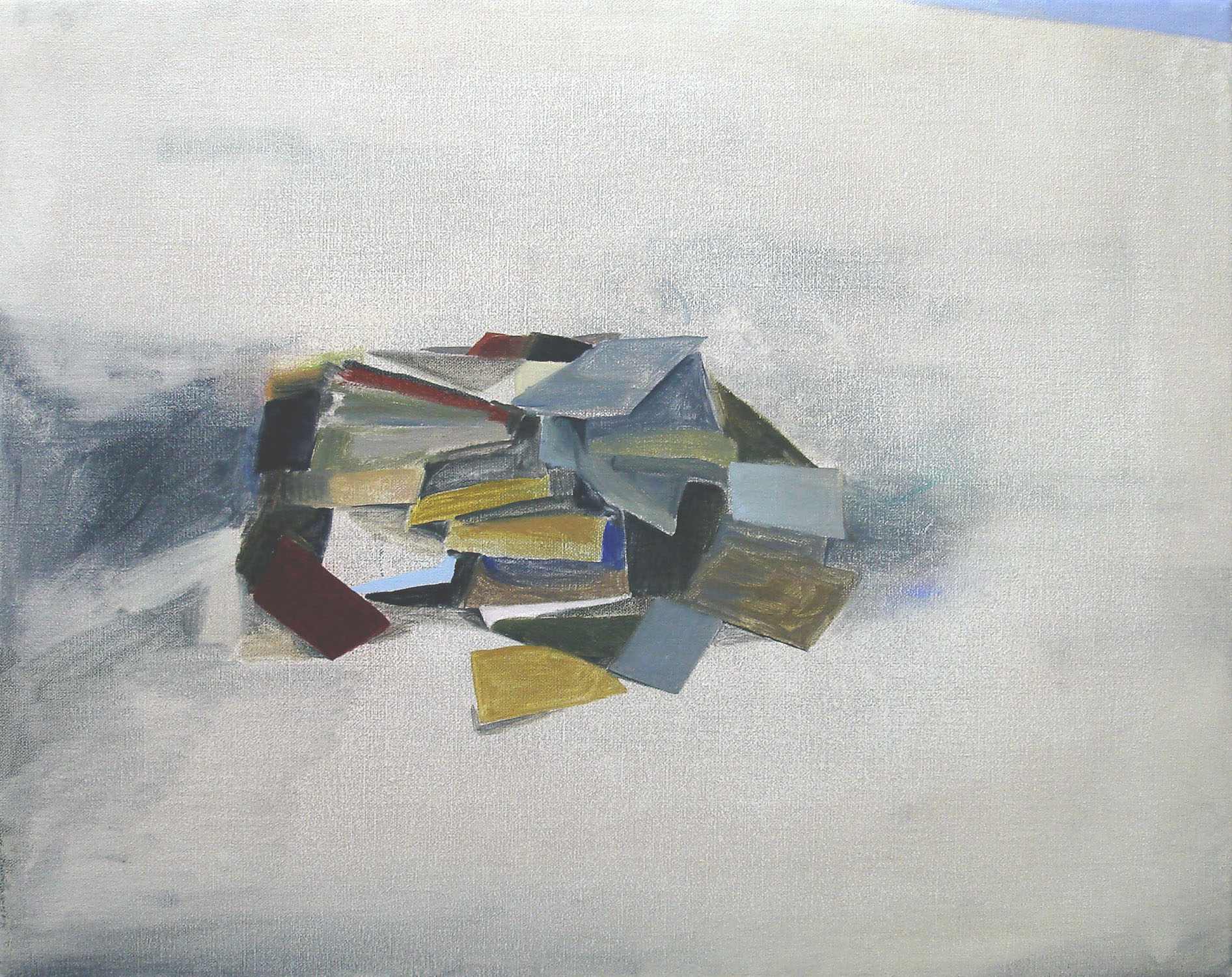Books    2010, oil on canvas, 40 x 50cm
