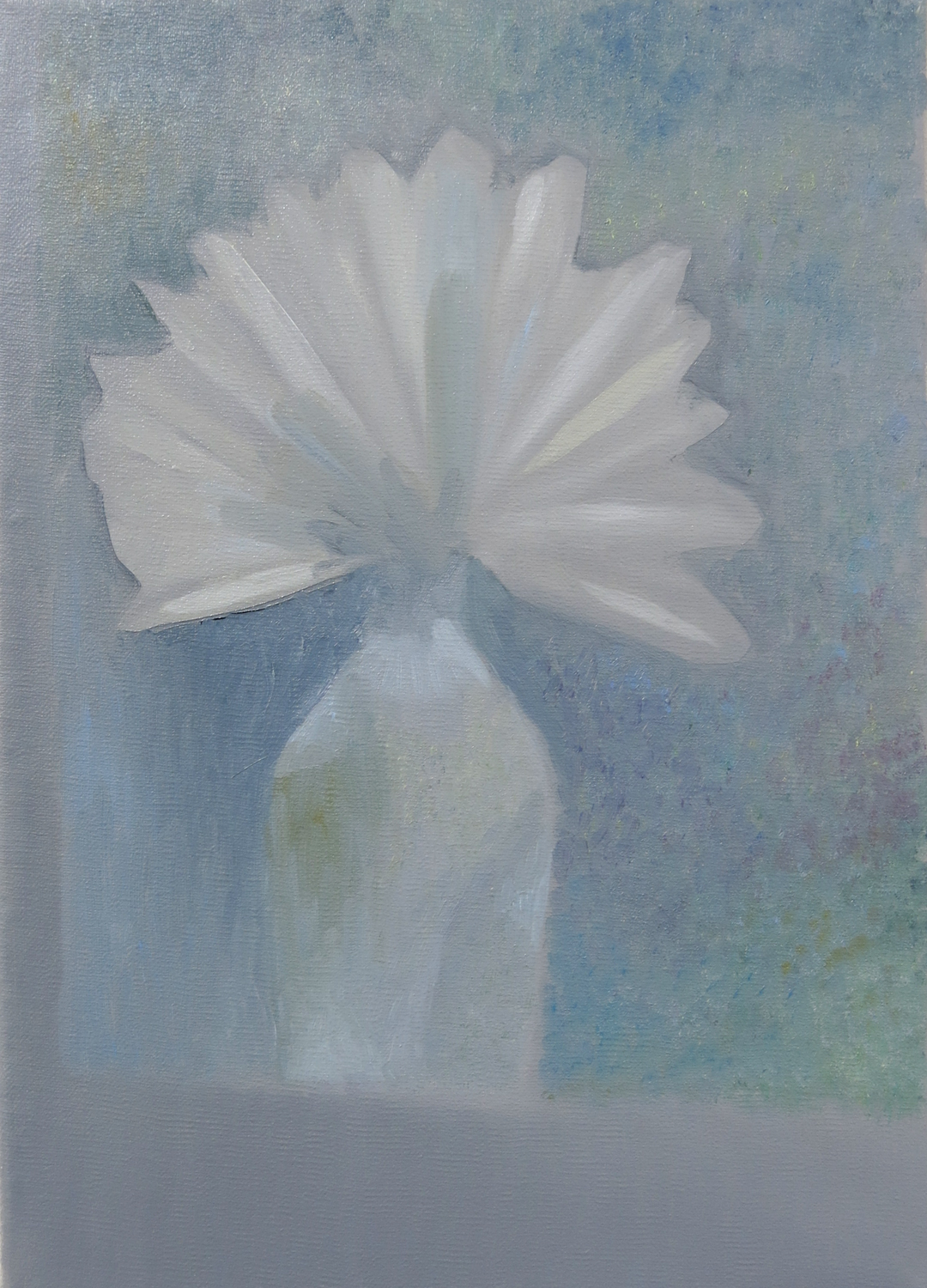 Paper Flower    2015, oil on canvas, 35 x 25cm