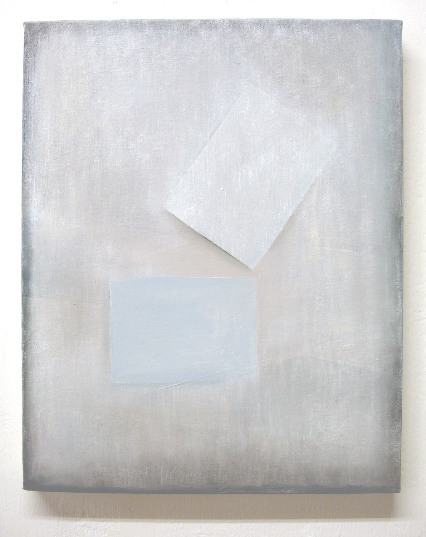 Paper & Whitewash    2011, oil on canvas