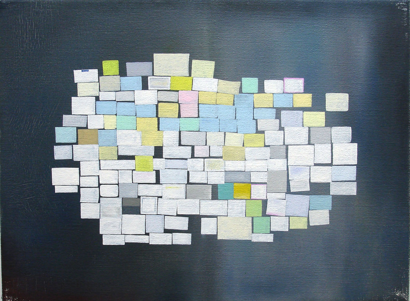 Notices    2006, oil on canvas, 30 x 40cm