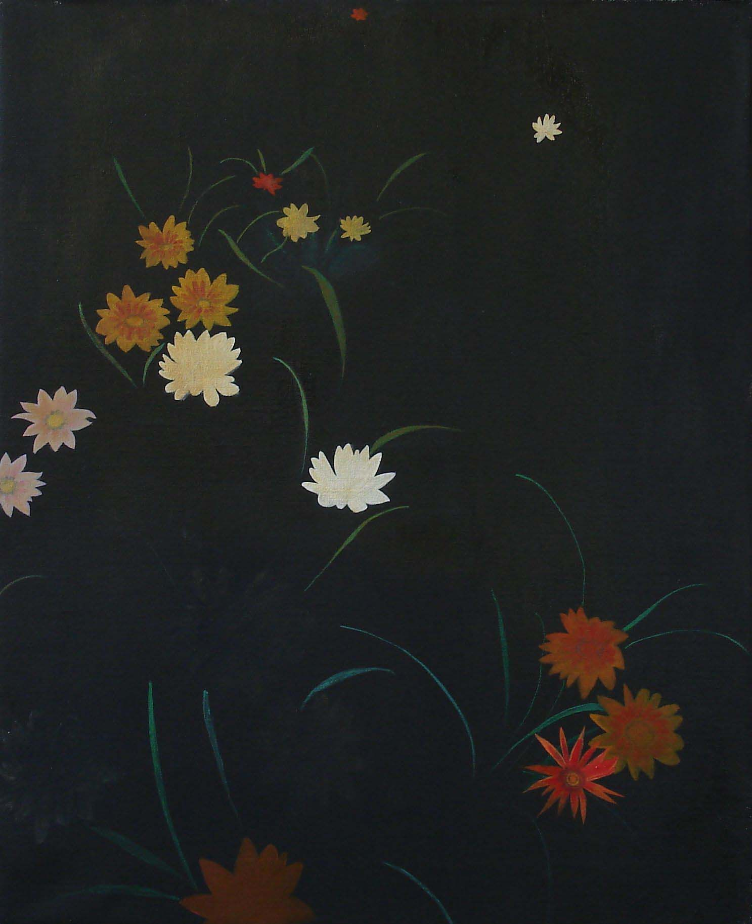 Flowerbed    2005, oil on canvas