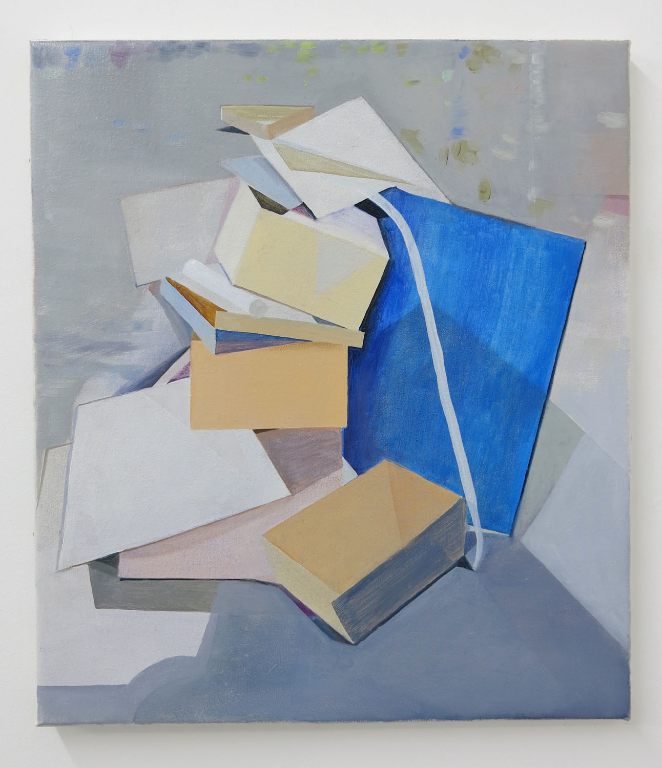 Blue Perspex    2013, oil on canvas, 40 x 35cm