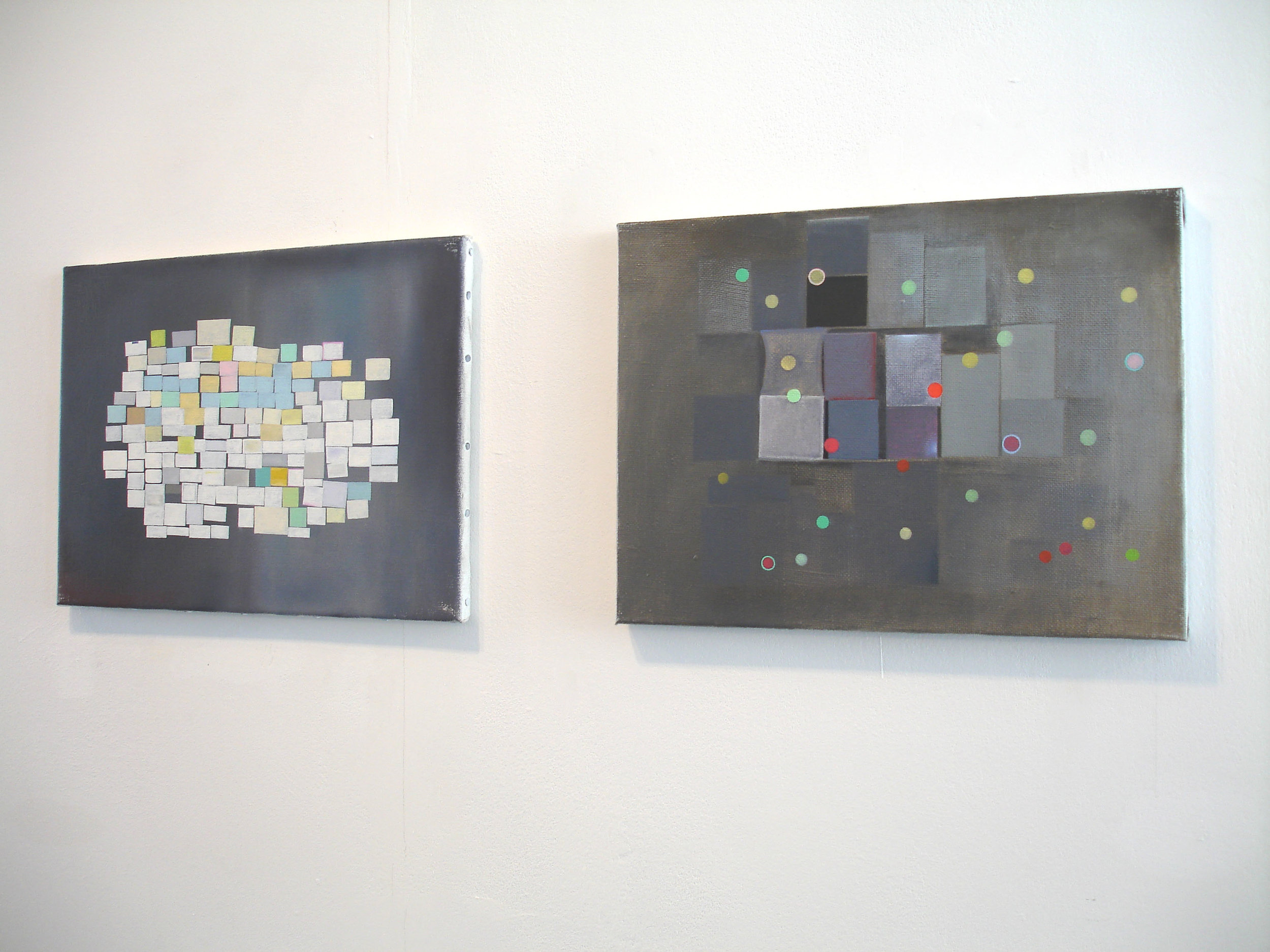 Installation view 'Souvenirs'    at Angus-Hughes Gallery