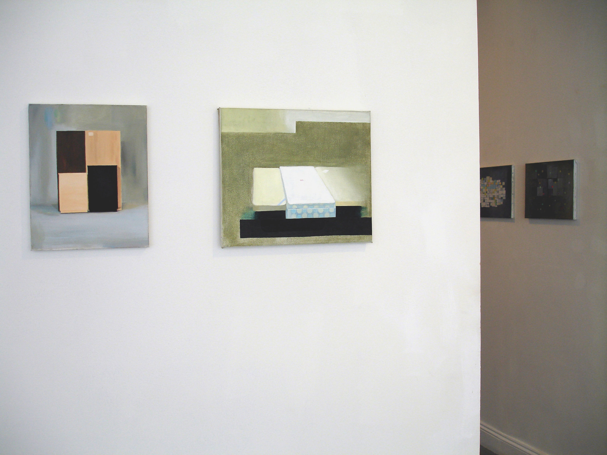Installation view 'Souvenirs'   Fieldgate at Angus-Hughes Galley