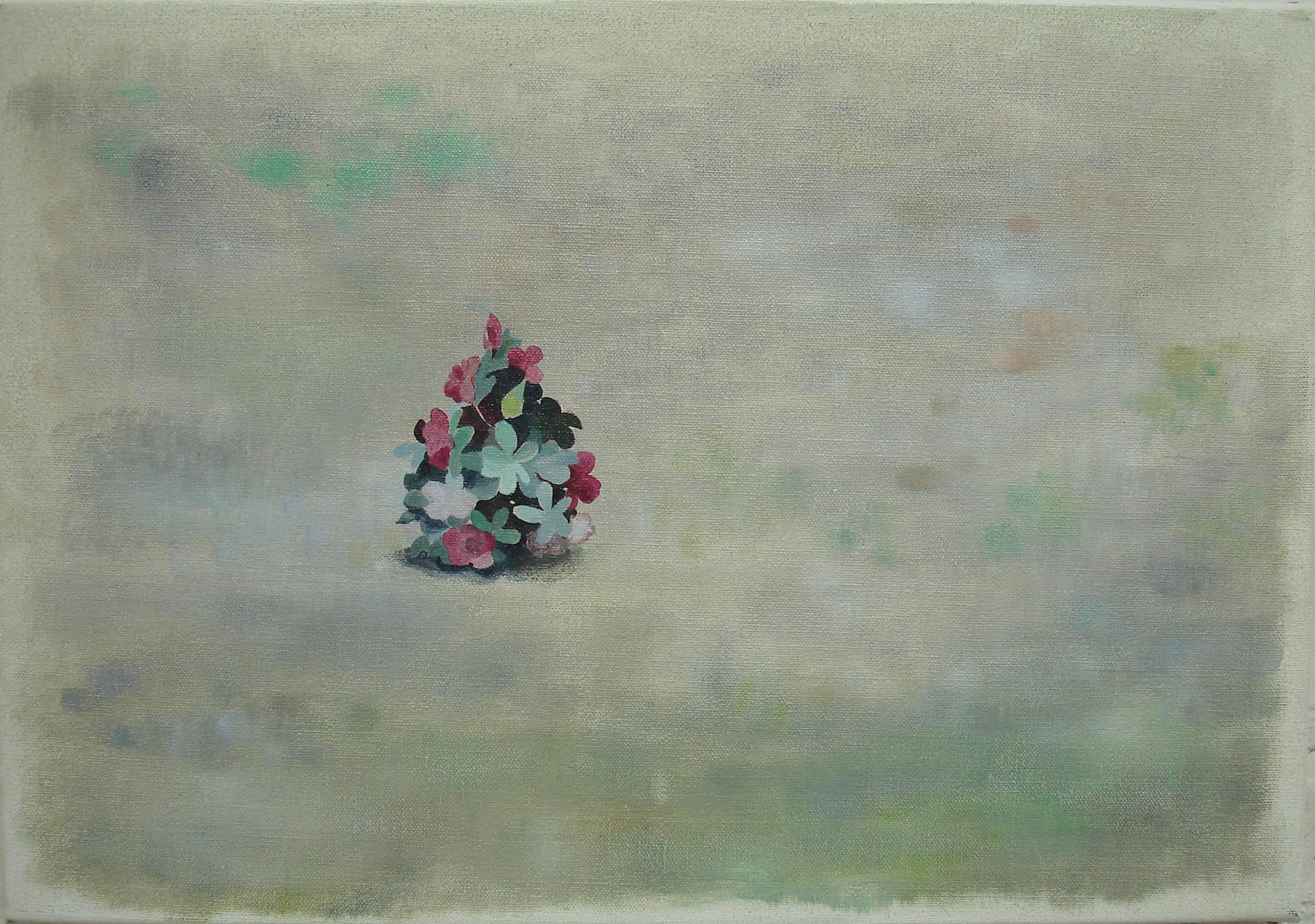 False Plant    2008, oil on canvas, 36 x 50cm