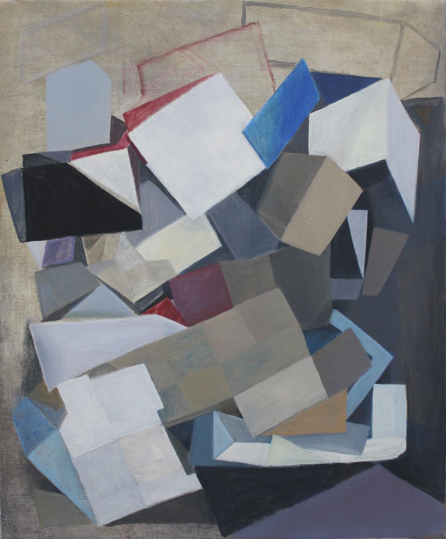 2018, oil on canvas, 61 x 51 cm