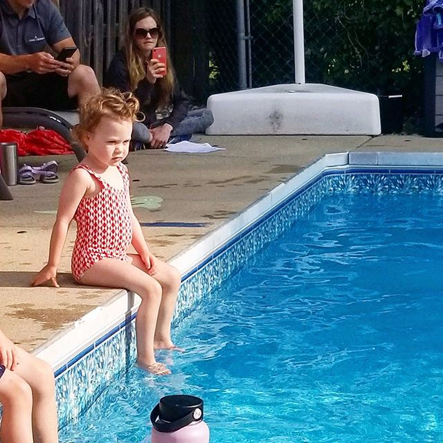 Summer may be officially over but my girl Maxine in this vintage checked bathing suit at swim class is going to get me through the winter. She's Olympics bound for sure🏅 . . . . . #vintage #vintagefashion #vintagekids #vintageswimsuit #vintageswim #kidsfashion #kidstyle #michigander #toddlerswimming #futureolympicswimmer #voguekids #secondhandfirst #kidsclothes #secondhandclothes #sourced