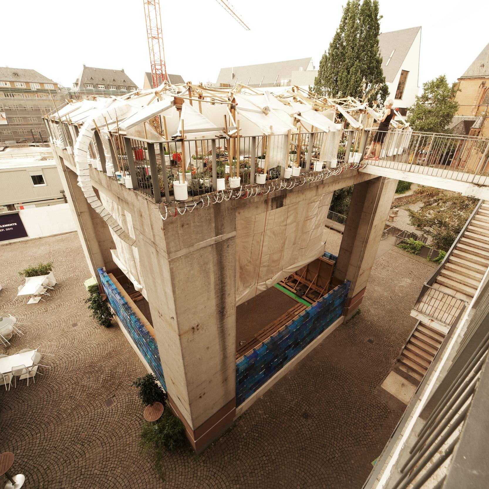 House with Metabolism    Schirn Kunsthalle Frankfurt